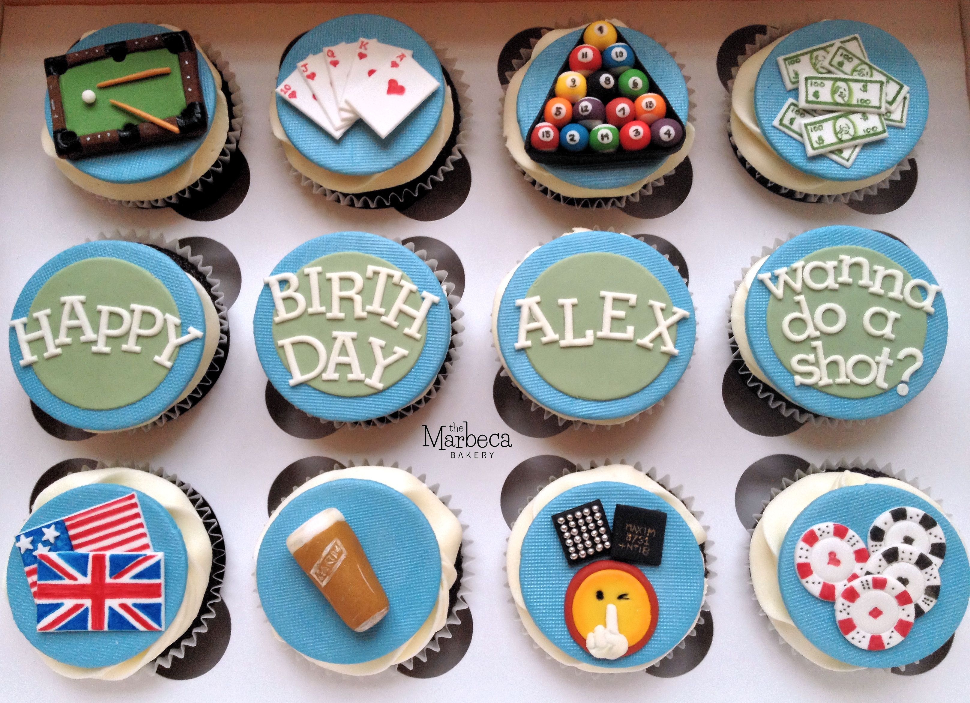 Birthday cupcakes - mixed interest