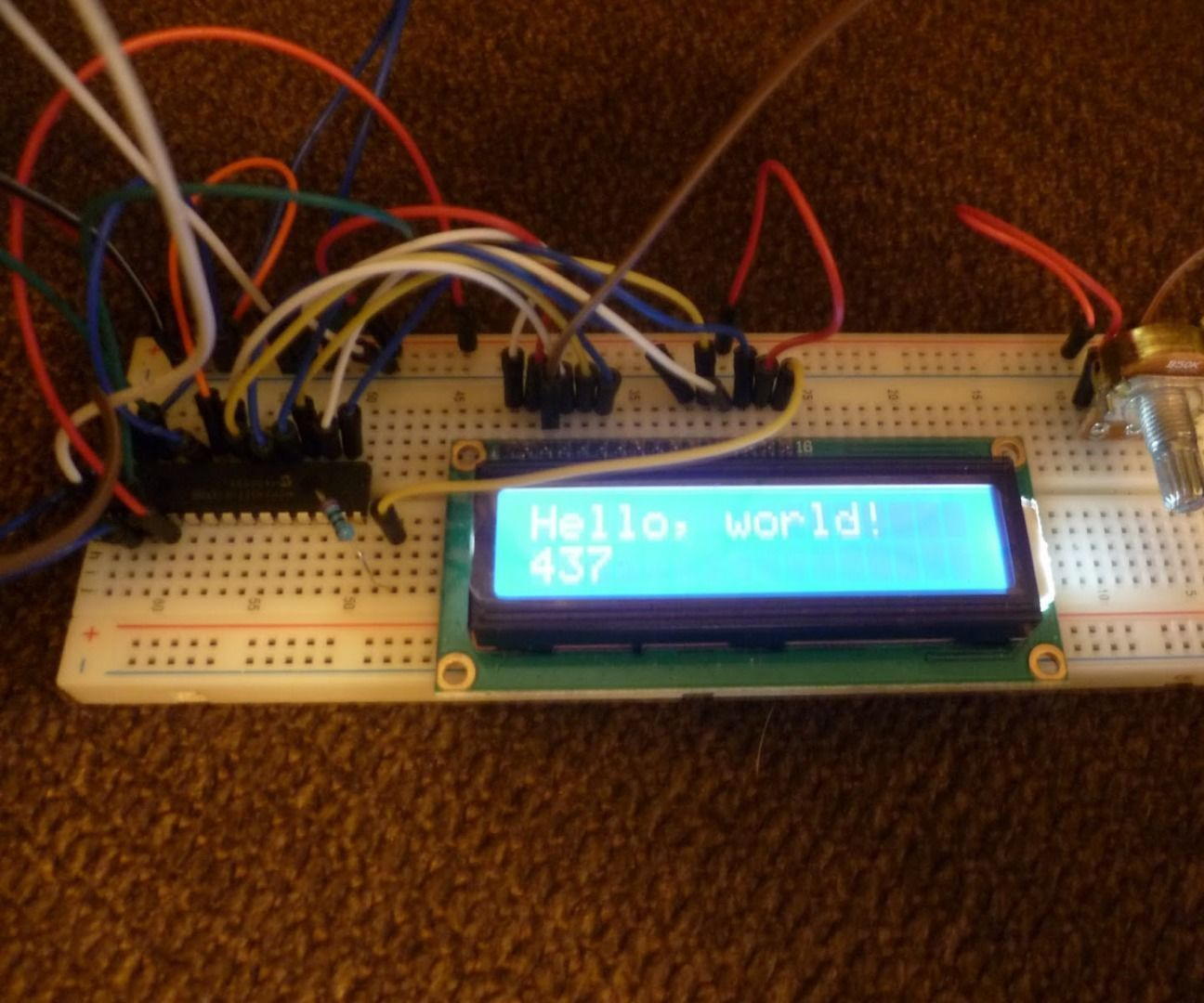Diy I2c Lcd Display With Inputs Pinterest Arduino Cool Projects Electronics And Microcontrollers For Home Ham Radio Model Railroading More