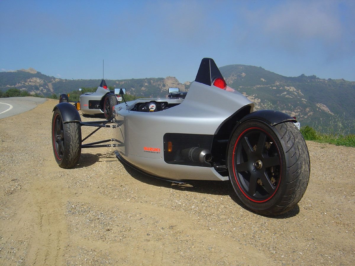 Single seater powered by suzuki tl1000