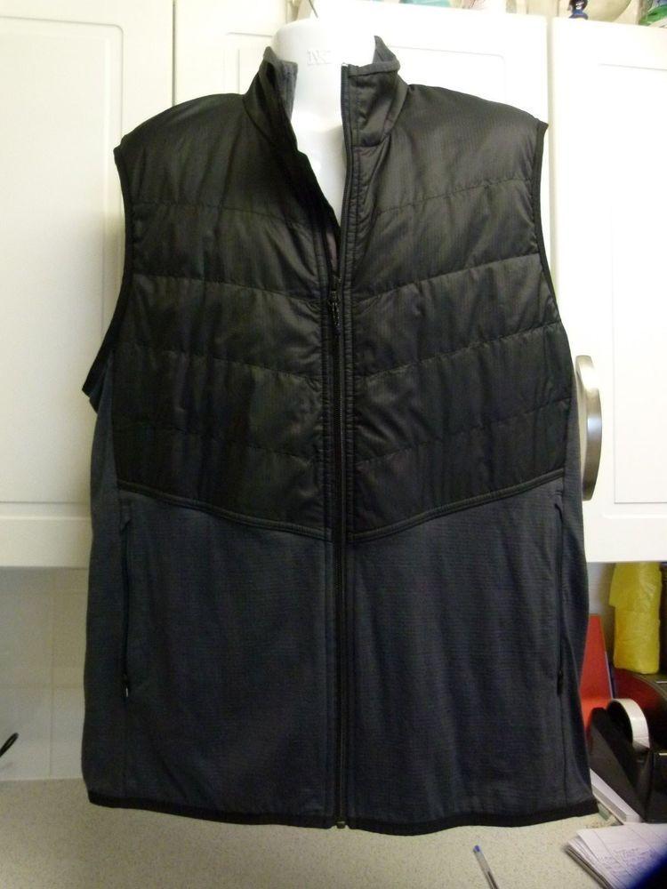 Icebreaker Gt Merino Wool Mens Gilet Bodywarmer Jacket Charcoal Grey Xxl Clothes Clothes For Women Charcoal Grey