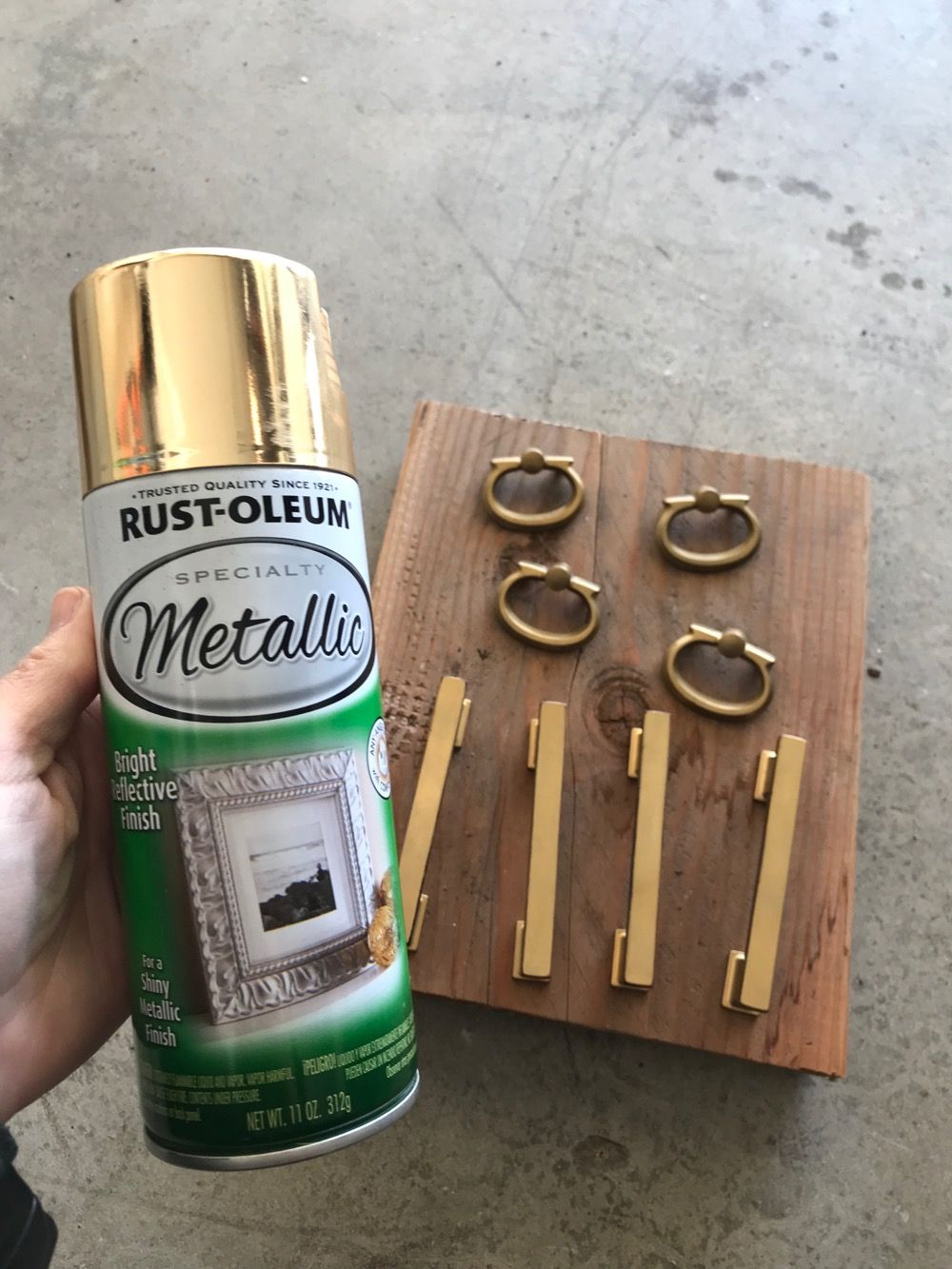 Spray Painted Gold Hardware Gold Spray Paint Best Gold