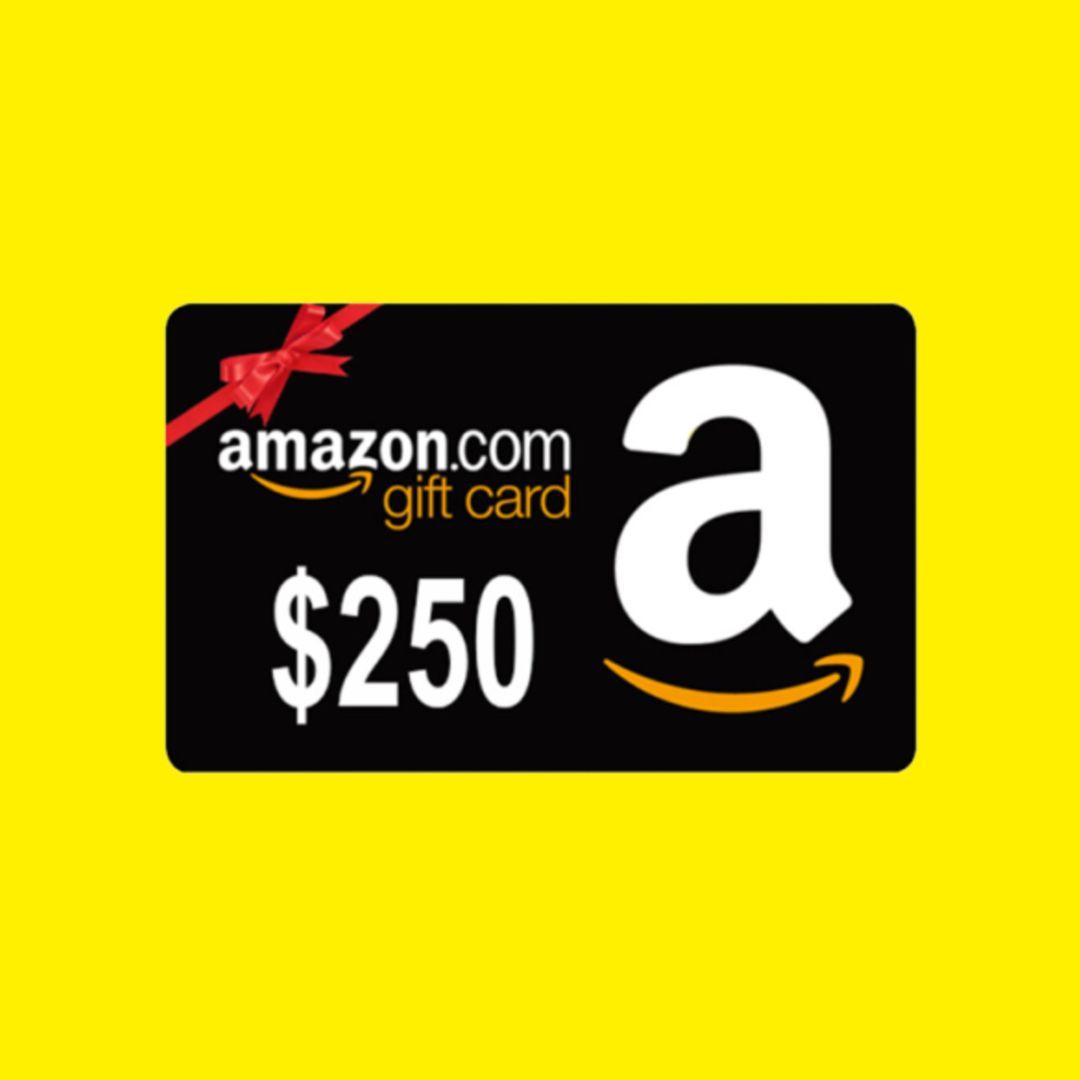 250 Amazon Gift Card Giveaway Locolow Com Amazon Gift Card Free Amazon Gift Cards Gift Card Giveaway