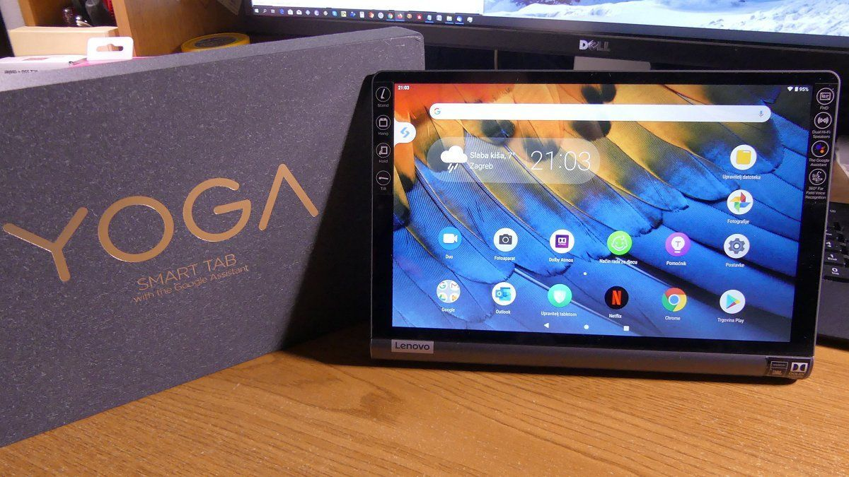 Lenovo Yoga Smart Tab Recenzija Dostojan Nasljednik Uspjesne Serije Tableta Racunalo Com Lenovo Lenovo Yoga Tablet