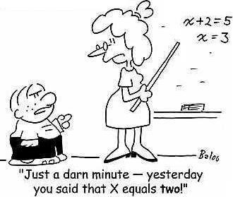 Image result for algebra cartoon