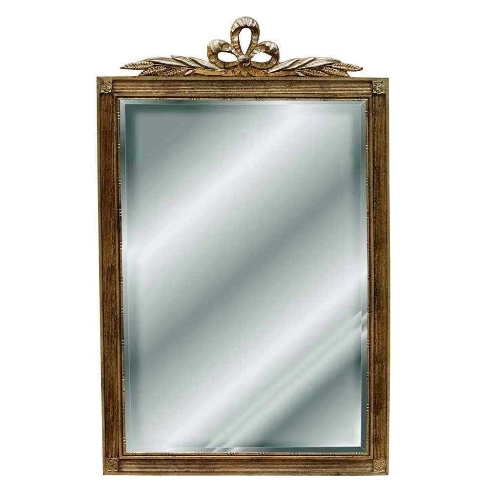 Hickory Manor House Campanello Mirror In Antique Gold 537 00 Usd Mirror Wall Mirror Accent Mirrors