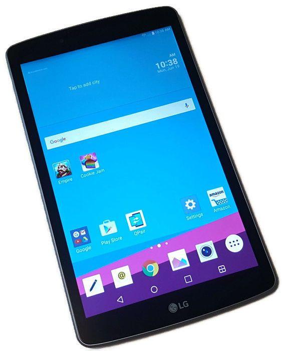 US Cellular LG G Pad F 8 0 16GB Titan Silver Android UK495