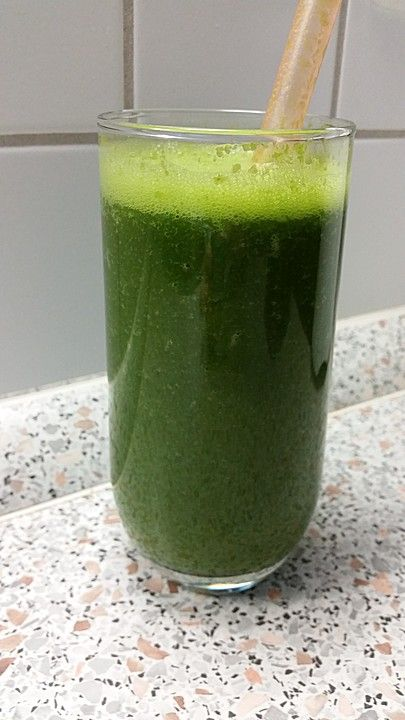Grüner Herbst-Smoothie, ein sehr schönes Rezept aus der Kategorie Resteverwertung.