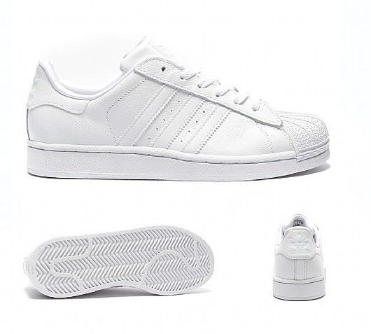 Cheap Adidas Superstar White & Rose Gold Stripes BB1428 size 4 6