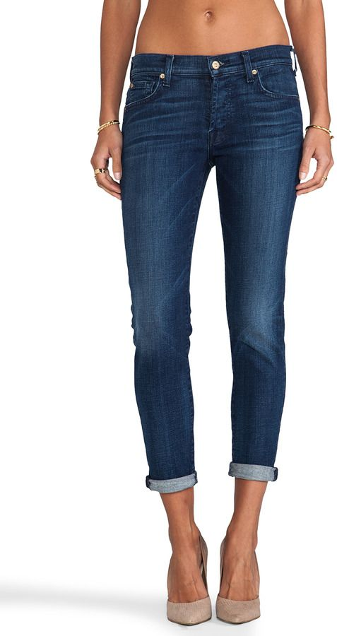7 For All Mankind Josefina Boyfriend - Love these jeans for everyday wear