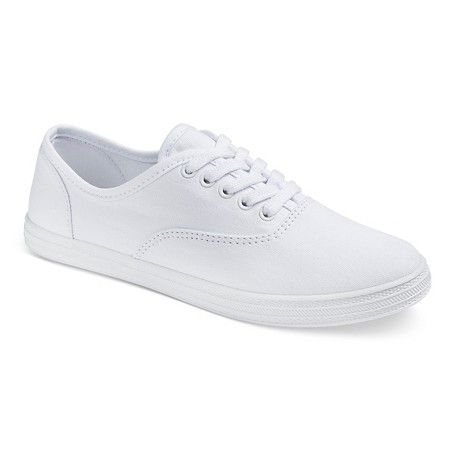 Target $16.99 - Size 6 in White Women's Lunea Canvas Sneakers - Mossimo  Supply Co.