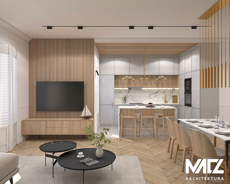 Mieszkanie W Kamienicy Projekt Wnetrza Macz Architektura In 2021 Apartment Interior Home Home Deco