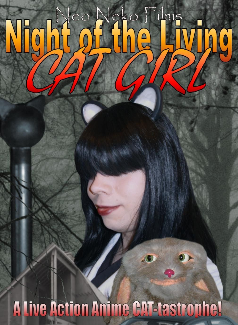 Anime Zombie Cat Girl Unlimited In 2021 Zombie Cat Anime Zombie Cat Girl