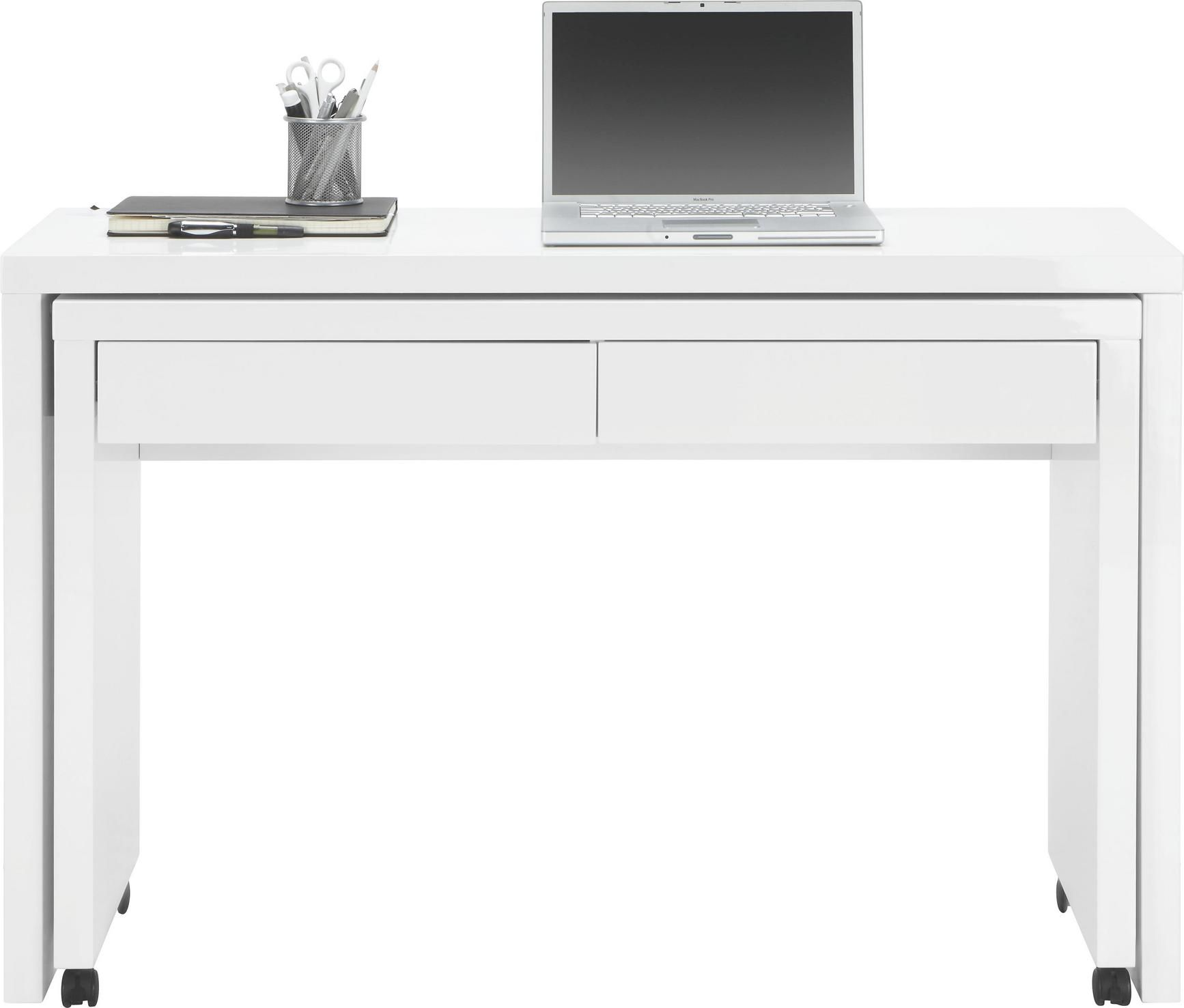 Schreibtisch In Weiss Hochglanz Online Kaufen Momax Schreibtisch Tisch Buroschreibtisch