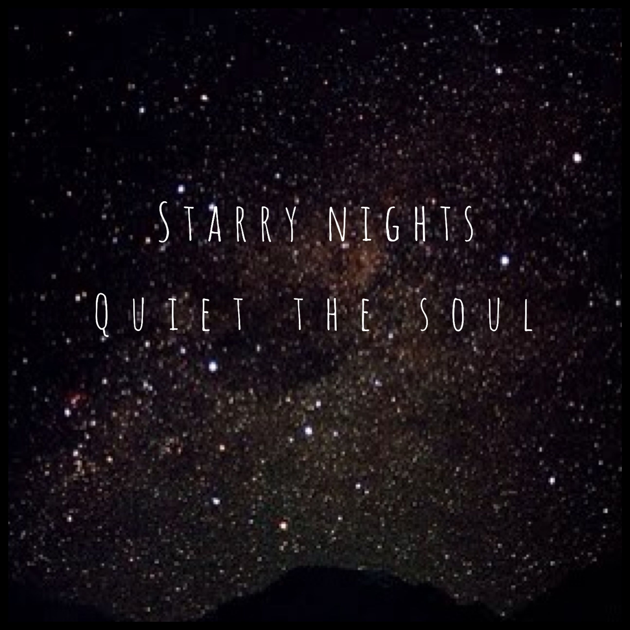 Image result for peace of the night sky quote