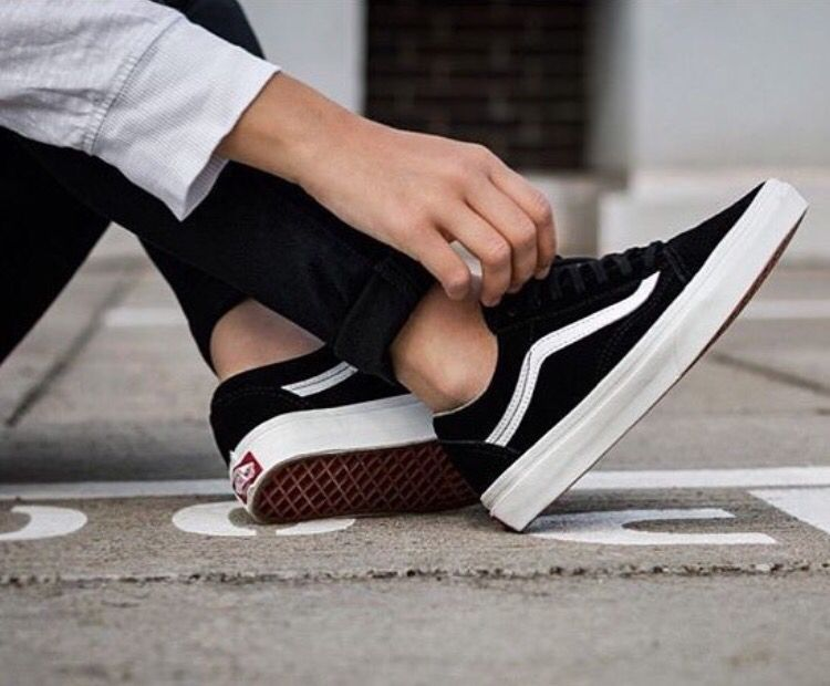 These classic vans can be worn with an endless amount of