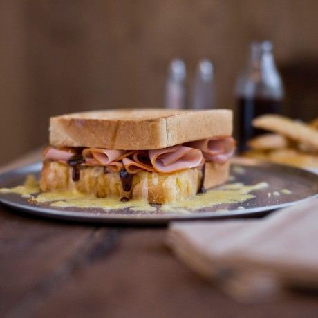 DON Double Smoked Shaved Leg Ham, Cheese and Sundried Tomato Toastie Click the image to get the recipe!