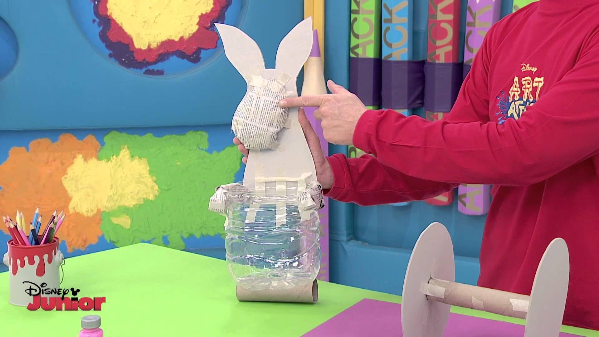 Art Attack Animal Trolley Official Disney Junior Uk Hd Art