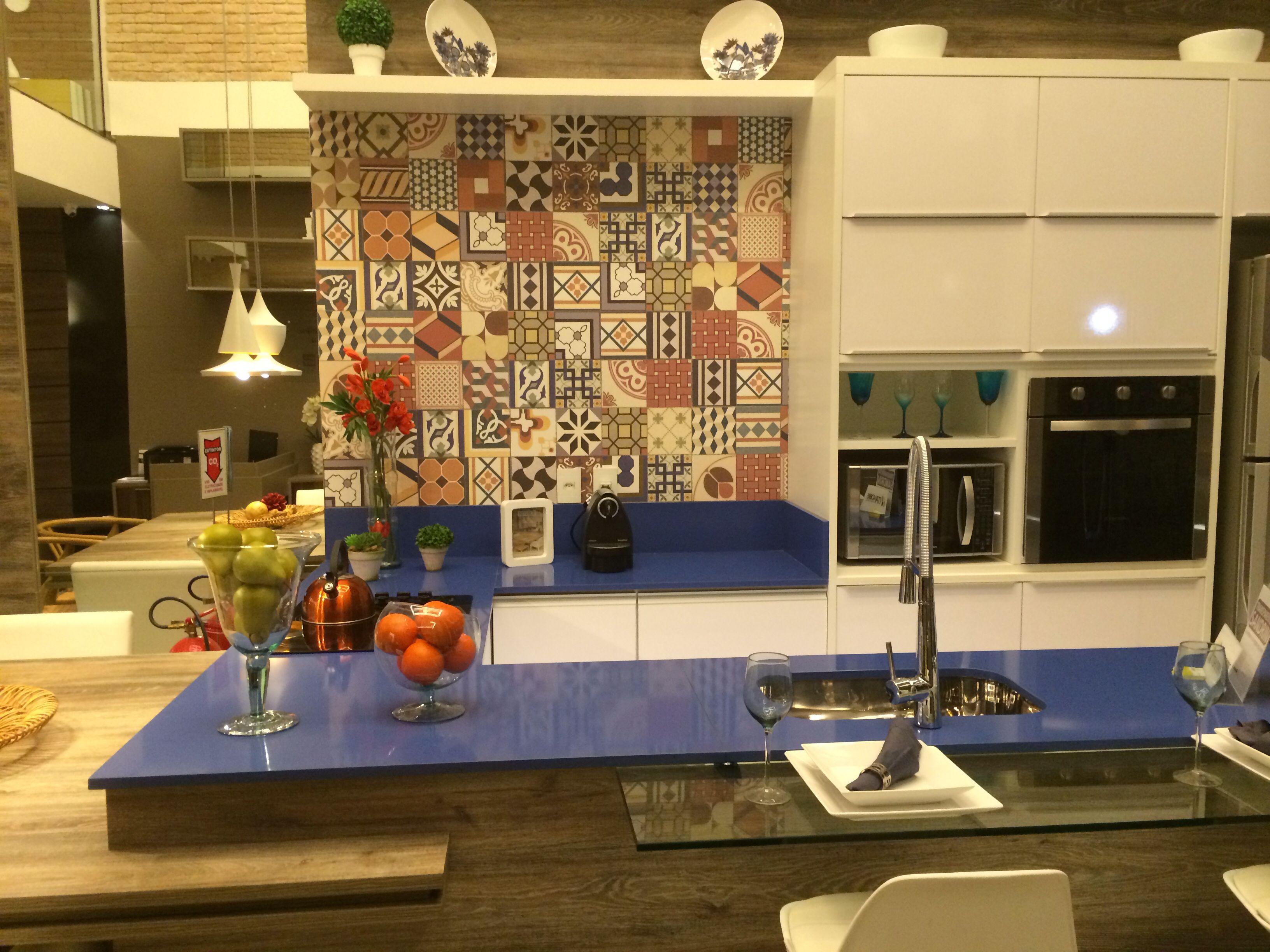 Cozinha com adesivo ladrilho hidr ulico my decoration - Ladrillo hidraulico ...