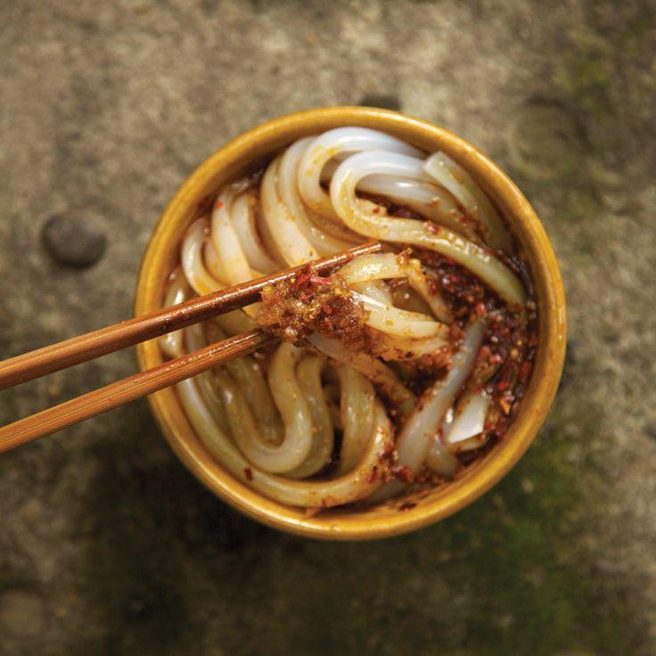Dan Dan Mian (Sichuan Noodles with Spicy Pork Sauce)