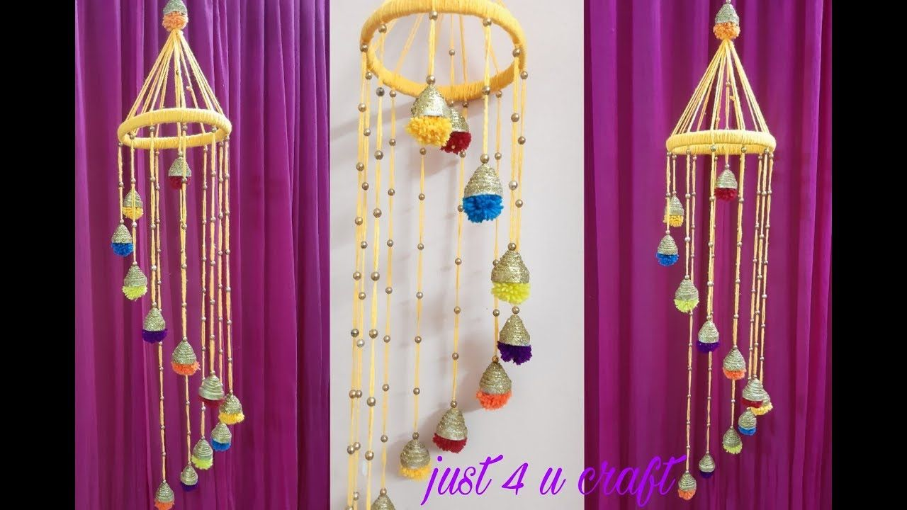 Best Out Of Waste Idea News Paper Wall Hanging Diy Room