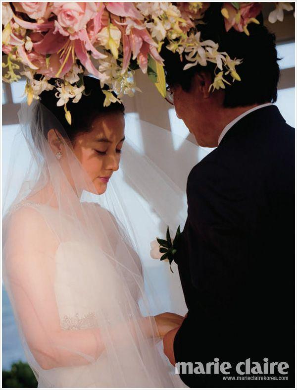 Lee Young Ae Wedding Photos