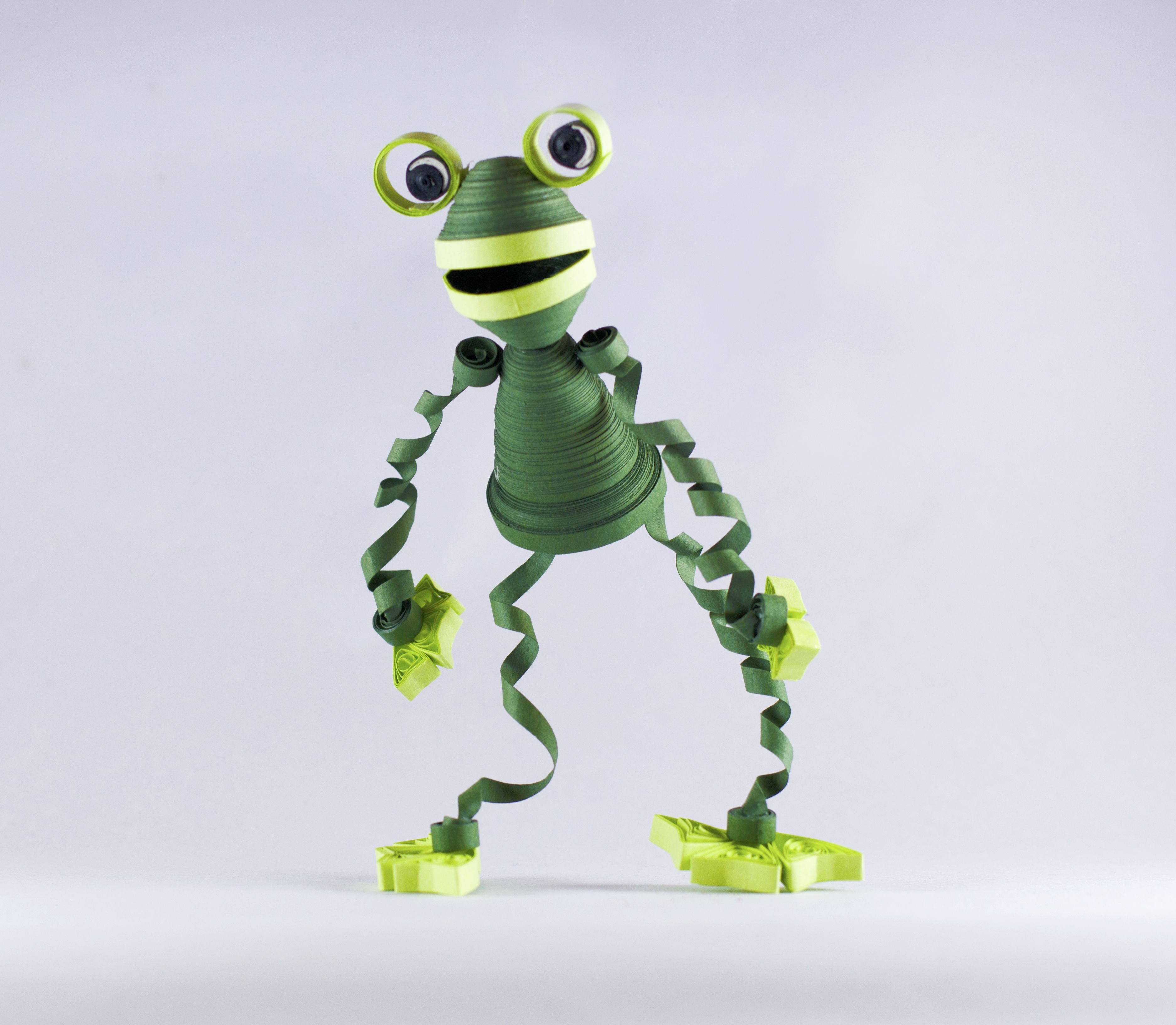 Quilling Frog Quilling art, Quilling animals, Quilling
