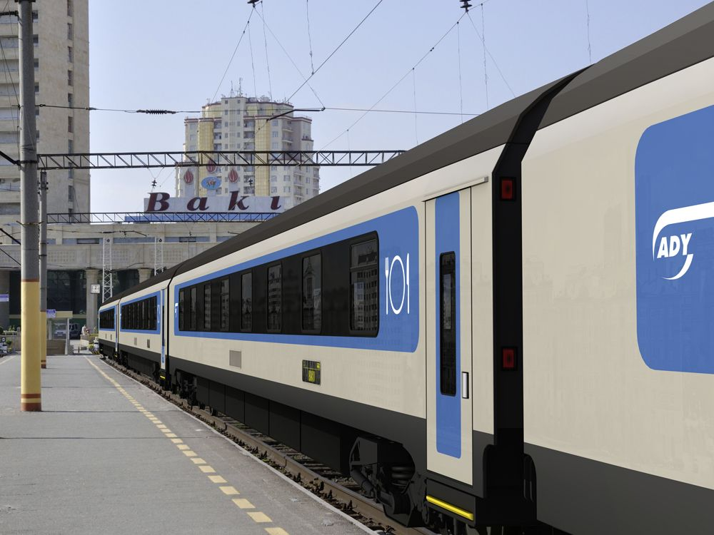 Impression Of Stadler Rail Sleeping And Dining Cars For Azerbaijan