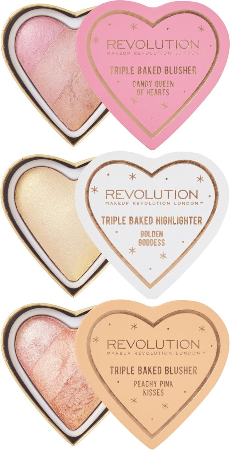 Makeup Revolution Blushing Hearts Might Remind You of
