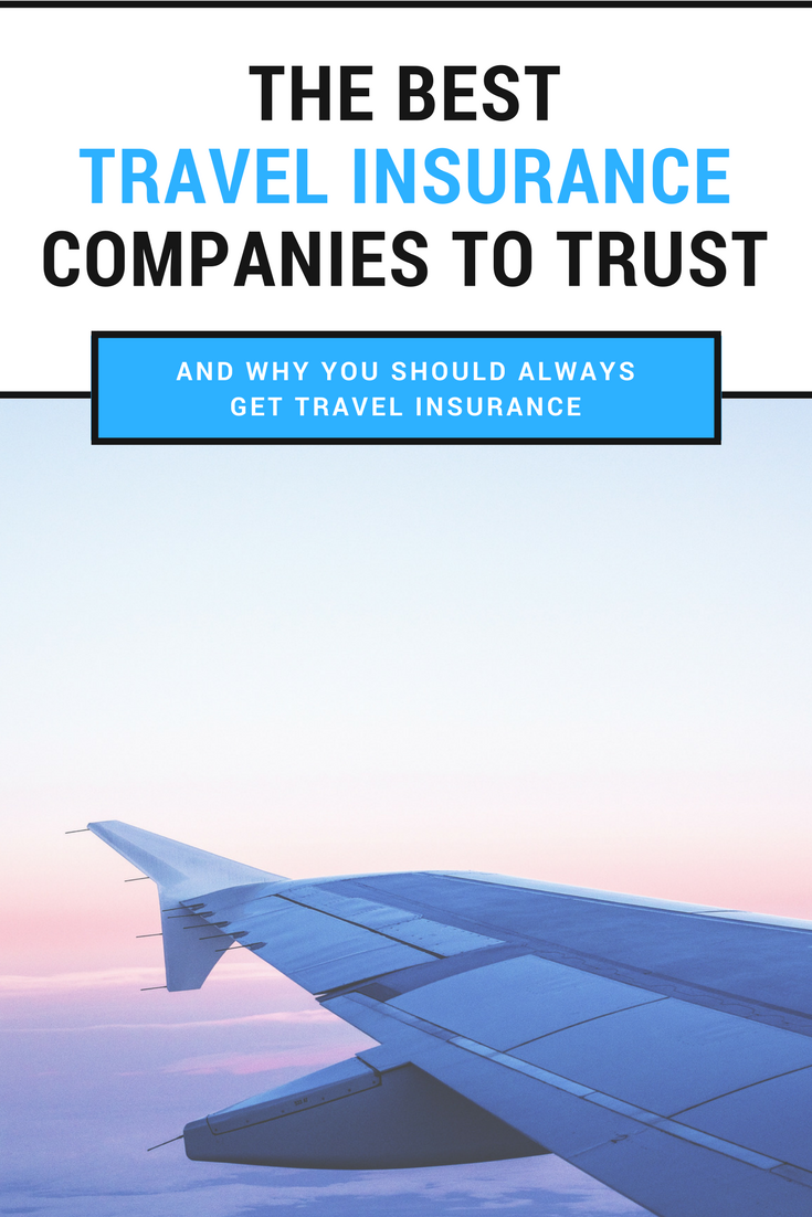 Why You Should Get Travel Insurance And The Best Companies To
