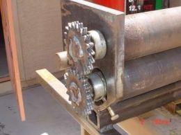Slip Roller Homemade Slip Roller Constructed From 1 2 Ring Roller Metal Working Tools Metal Bending