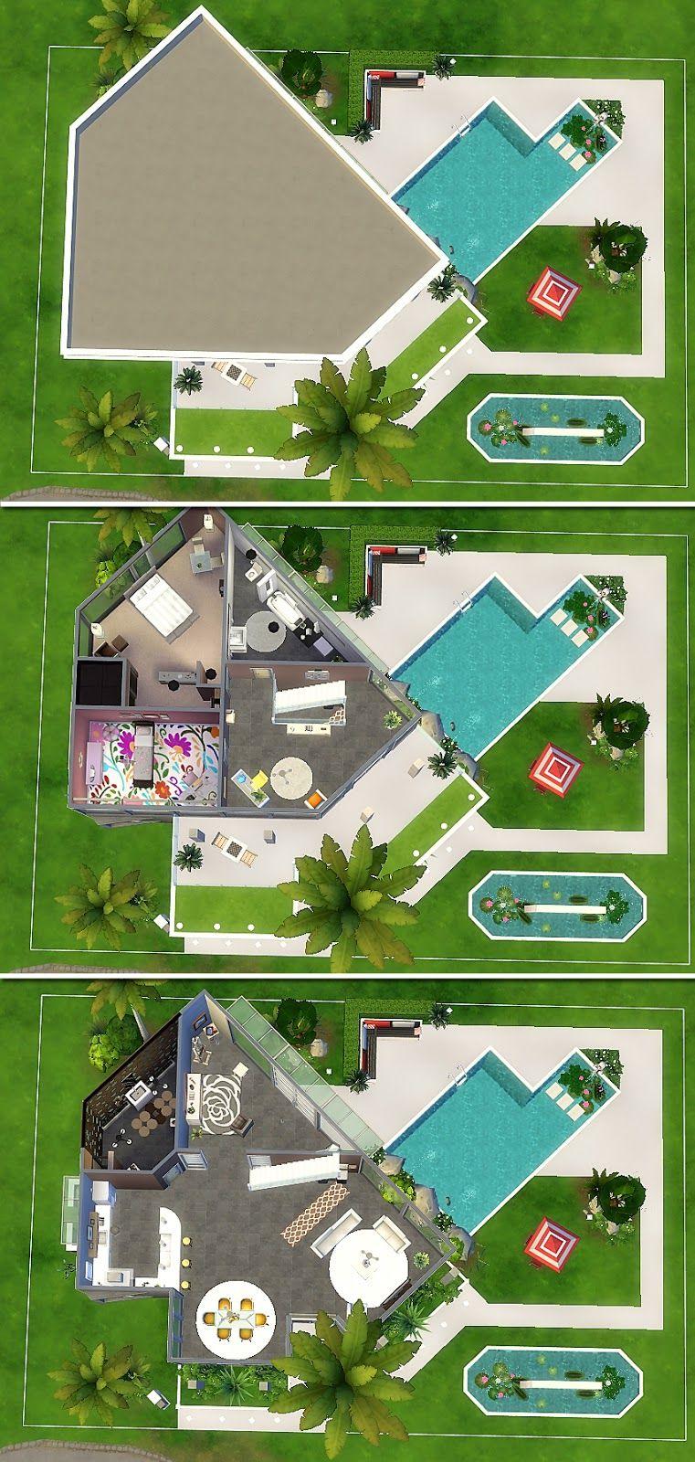House 25 The Sims 4 Com Imagens Casa Sims The Sims Casas