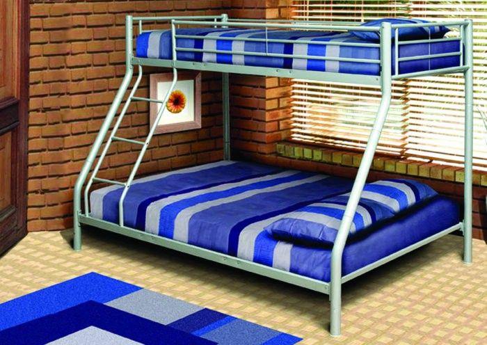 SEATTLE TRI/BUNK/-SILVER *I* - Furniture
