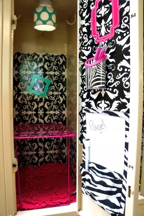 How To Decorate A School Locker For Less School Lockers