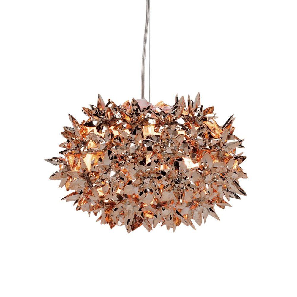 Bloom Lampa I, Koppar, Kartell | Hängande lampa, Lampor, Koppar