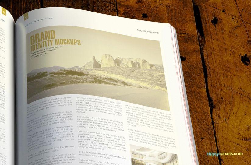 2 Free Magazine Mock-Ups | ZippyPixels