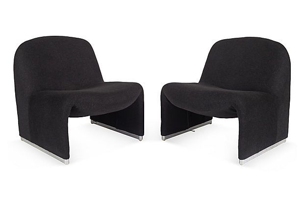 Giancarlo piretti alky chairs for Sedie design toronto