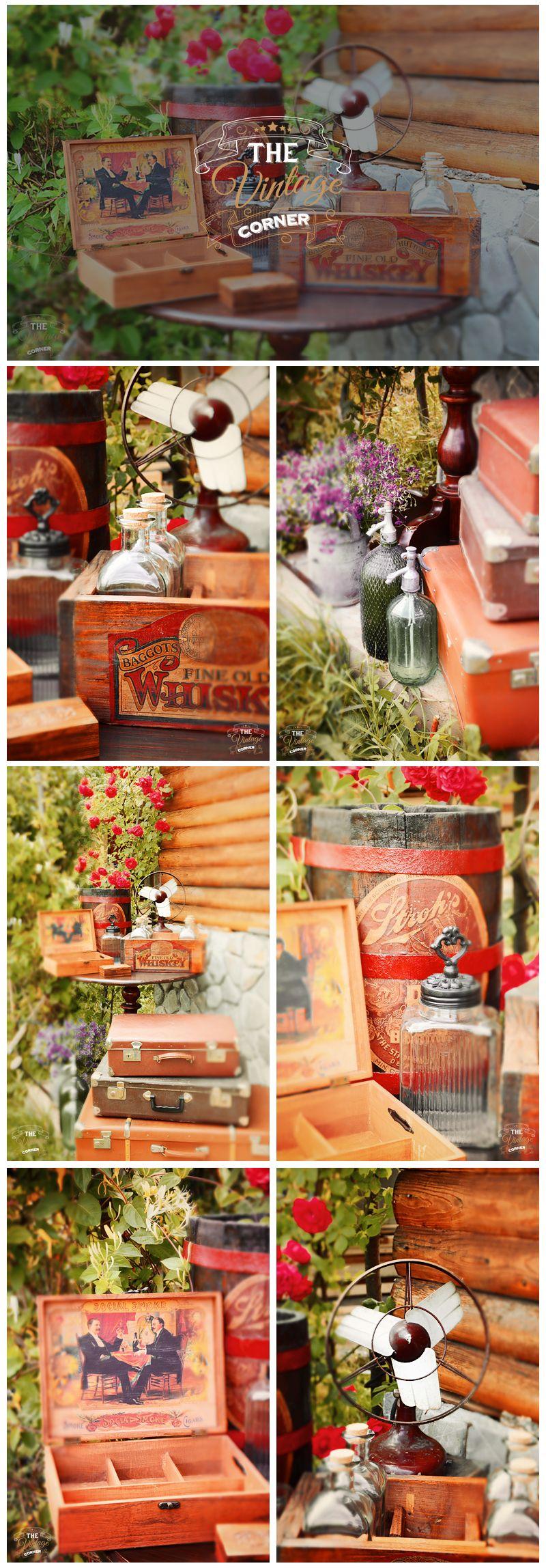 vintage accessories for gentlemen's corner