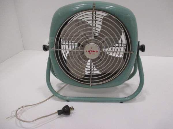 Vintage Green Lasko Electric Fan Working Lasko Electric Fan