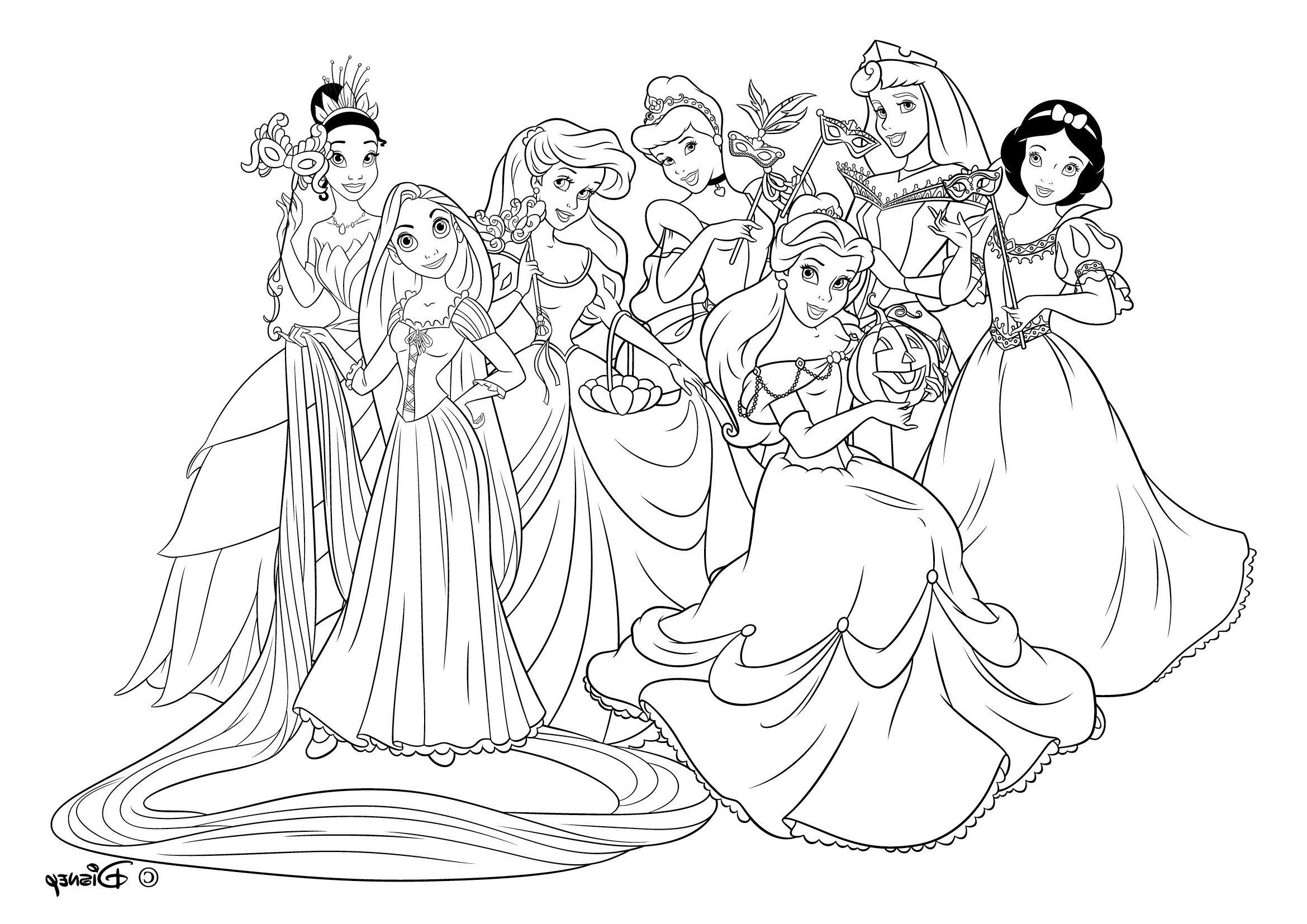 19 Parfait Coloriage Princesse Disney Stock Check more at https