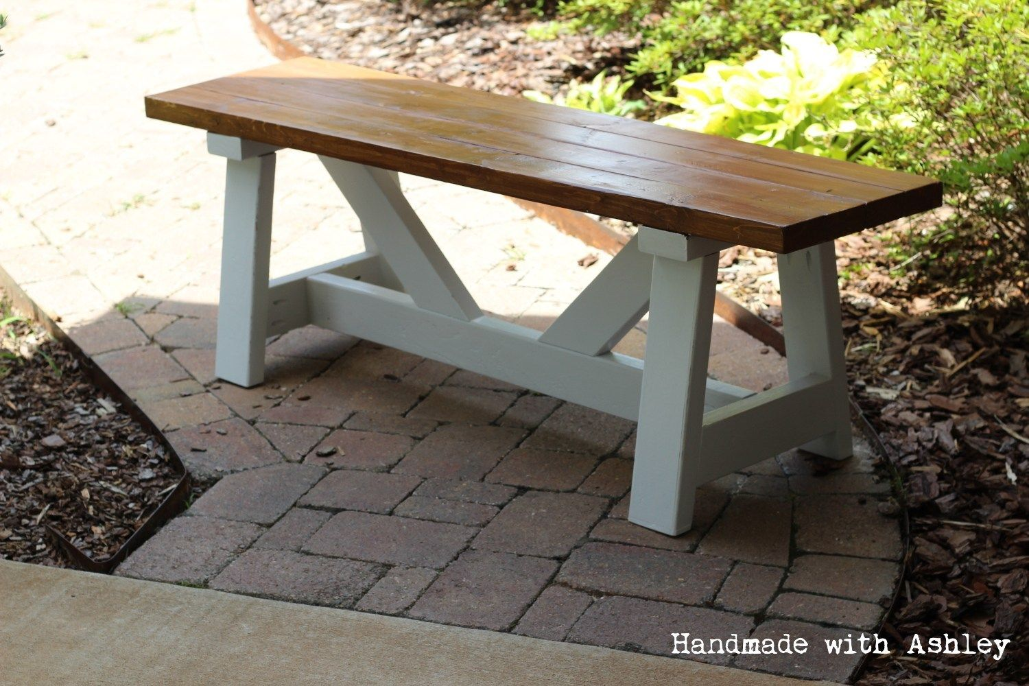 DIY Providence Bench (Plans by Ana White #anawhite