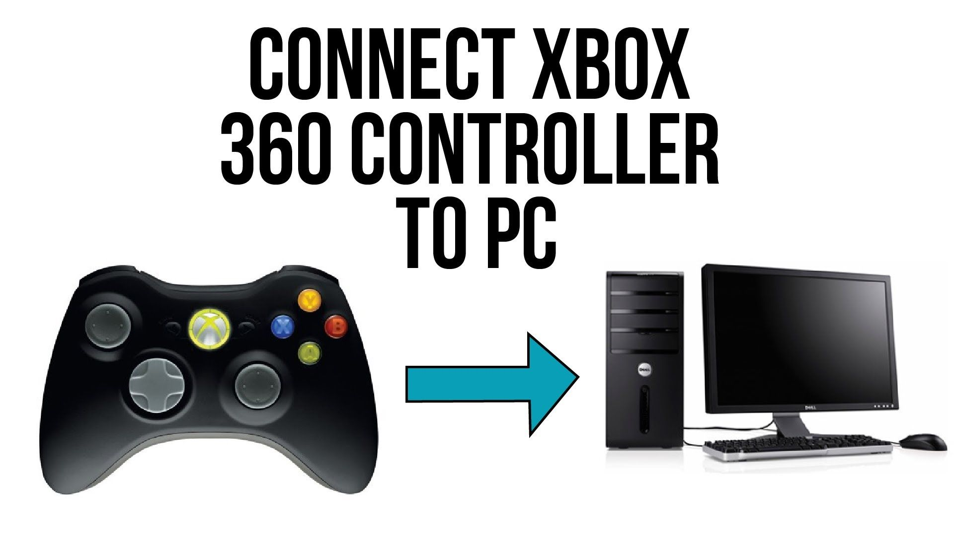 Connect Xbox 360 Controller to PC (Wireless/Wired)- Windows XP/Vista ...