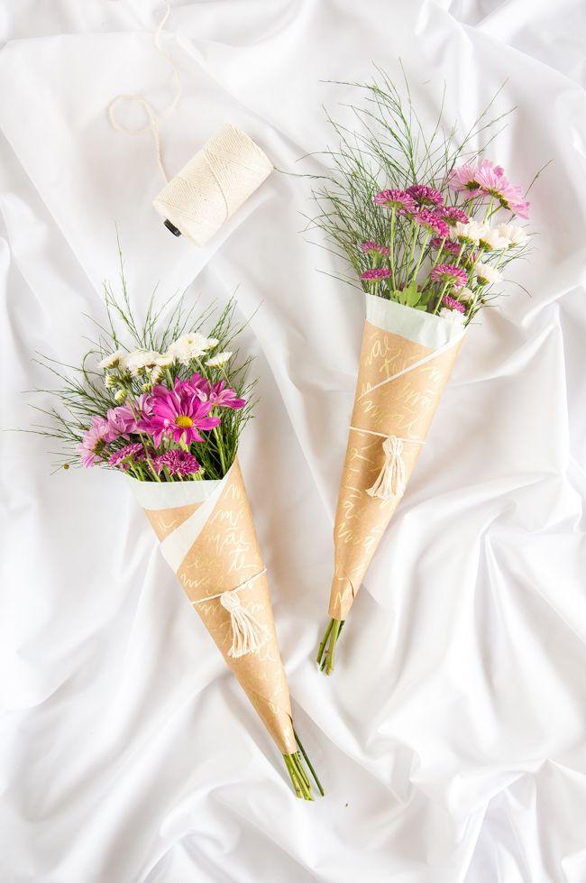 Como fazer um buquê de flores barato para o Dia das Mães