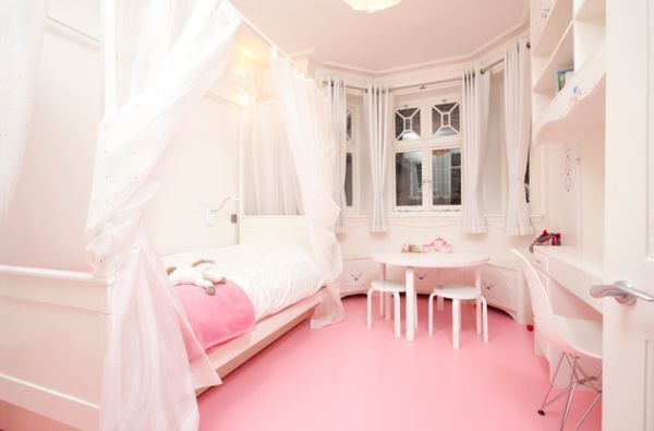 Stylish Girls Pink Bedrooms Ideas | Contemporary, Bedrooms and Pink ...