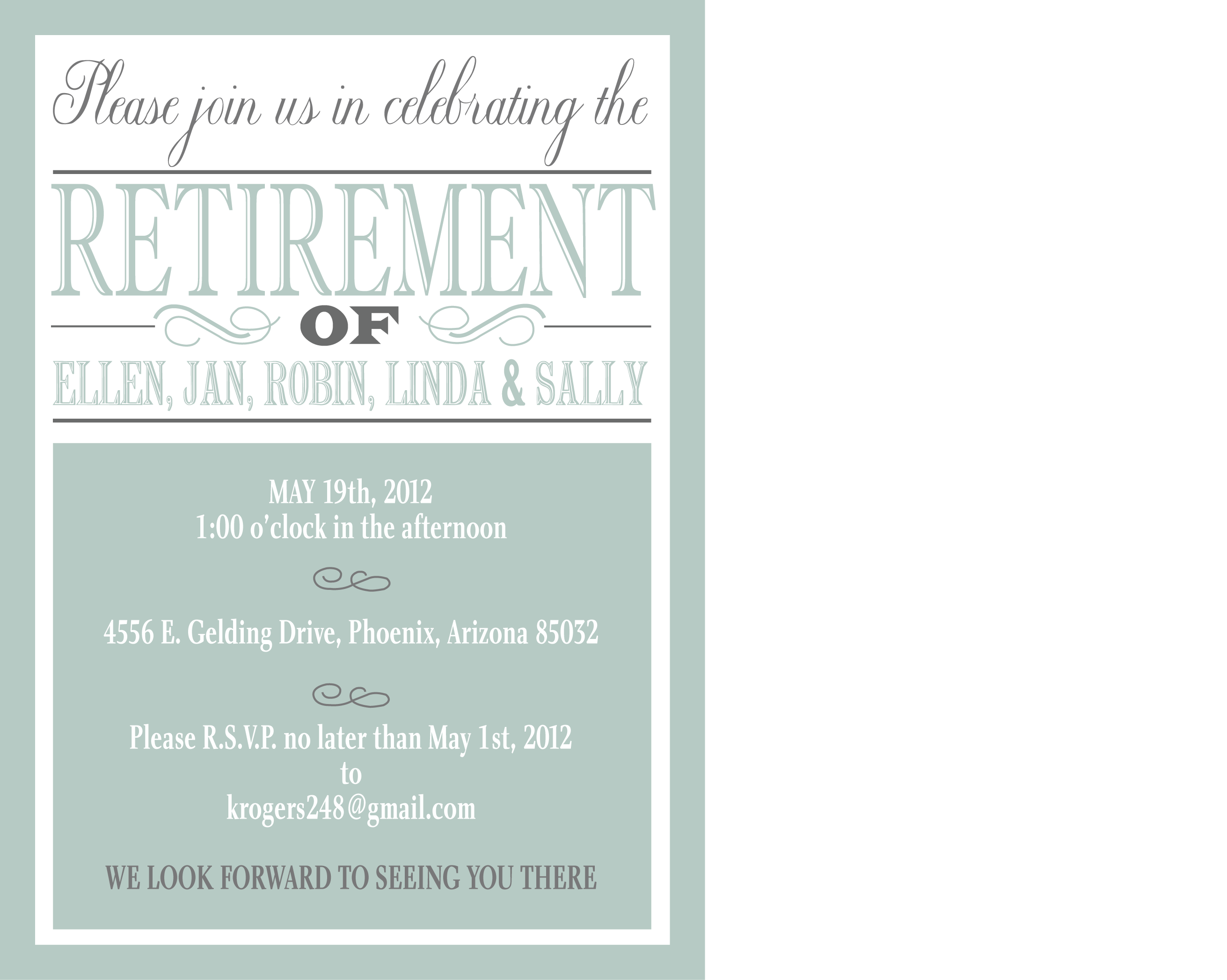 Retirement Party Invite Graduation Party Invitation Wording Online Party Invitations Party Invite Template