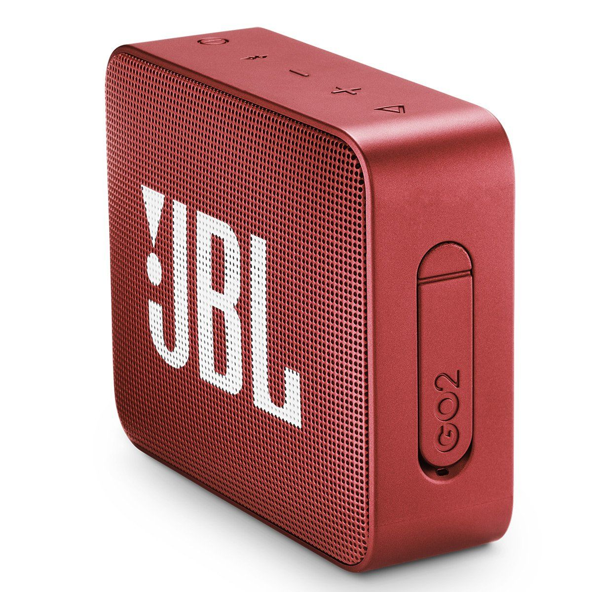 Jbl Go 2 Portable Bluetooth Waterproof Speaker Red Check Out This Great Product This Is An Affiliate Link Cellp With Images Waterproof Speaker Bluetooth Speaker Jbl