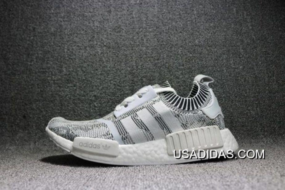 / / adidas nmd r1 primeknit glitch mimetico delle calzature