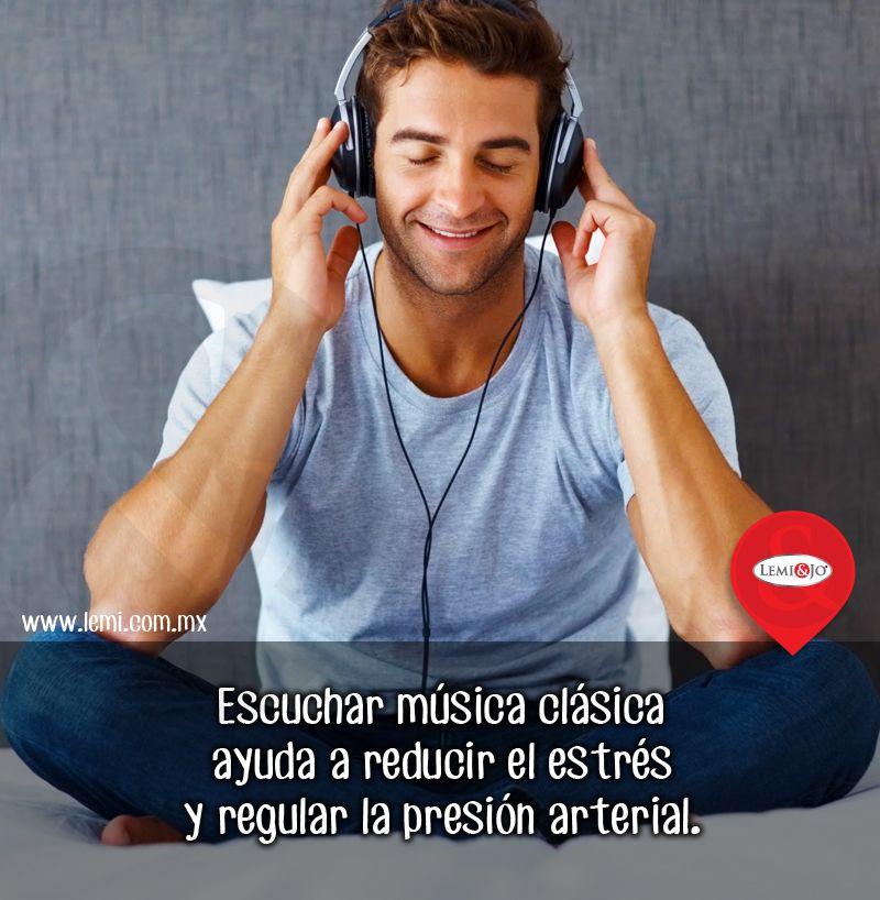 ¿Estrés? ¿Hipertensión? Escucha música clásica.  http://lemi.com.mx  #salud #bienestar