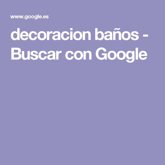 decoracion baños - Buscar con Google