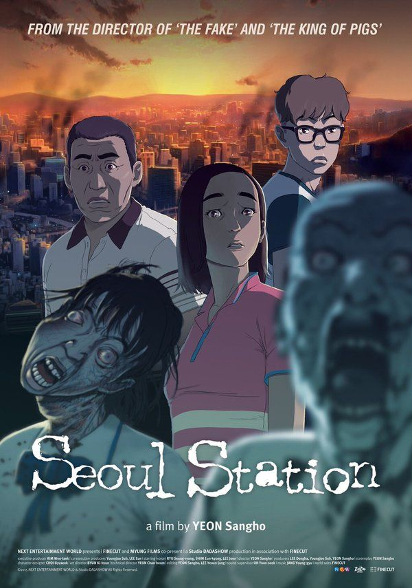Added English Poster And New Stills For The Upcoming Korean Animated Movie Seoul Station