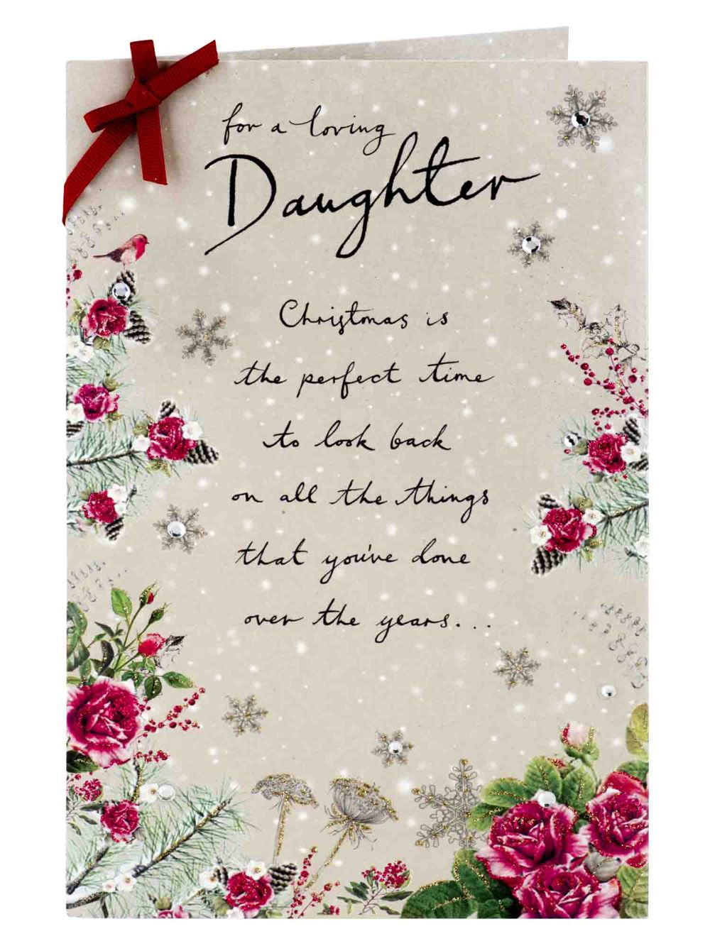 75+ Christmas Message for Daughter to Show Love & Care